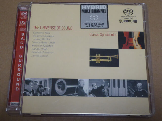 VARIOUS <  The Universe Of Sound - Classic Spectacular  > NM (SACD)