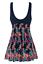 thumbnail 73 - Wantdo Women One Piece Swimdress Plus Size Bathing Suit Tankini Swimsuit Coverup