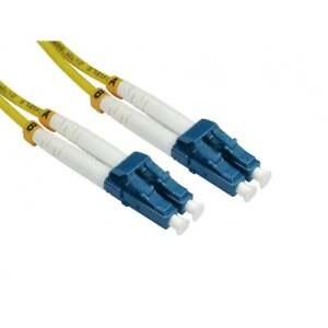 2m Os2 Fibre Optique Câble Réseau De Brassage Lszh Lc Vers Monomode Jaune