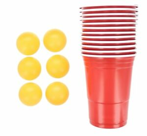 17pc-Beer-Pong-Set-Drinking-Game-Alcohol-American-Red-Cup-Beerpong-Frat-Party