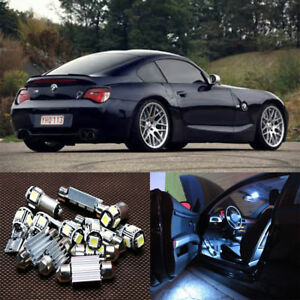 13-white-LED-light-Interior-kit-for-BMW-Z4-E85-E86-Coupe-Convertible-2003-2008