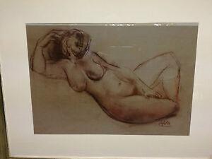 Luciano-Salazar-Nudo-Imagen-Pastel-70-X-60-cm-Marco-de-la-Pintor-Veneciano