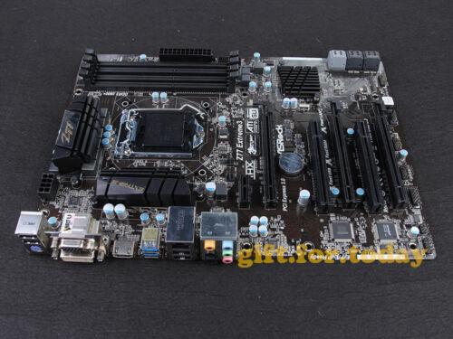 ASRock Z77 Extreme3 LGA 1155 Intel Z77 DDR3 ATX DVI HDMI USB3.0 2K Motherboard