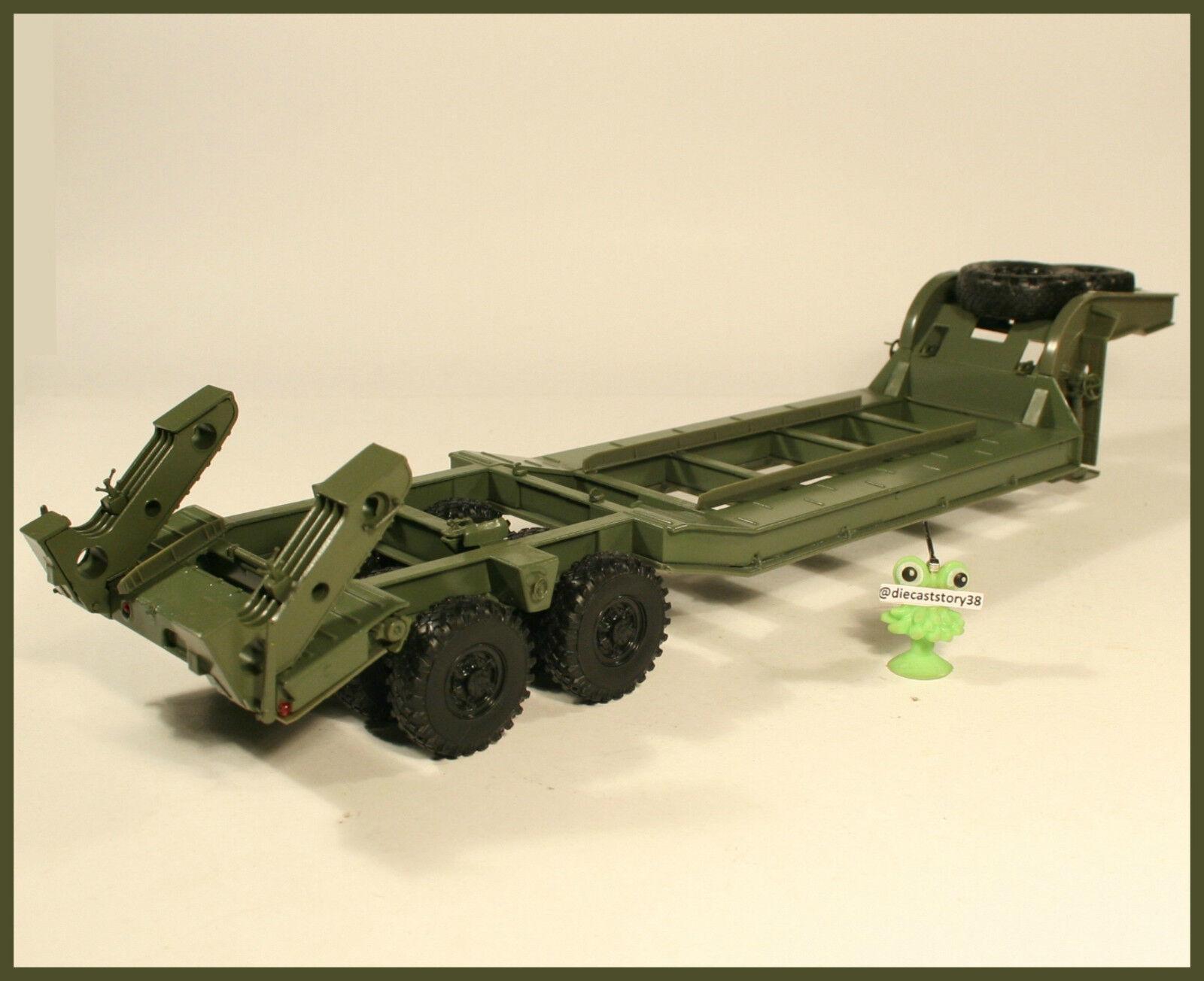 1 43 Tanks Military Semitrailer chmzap 5247G Russian USSR  fūr Maz KrAZ KAMAZ  gros pas cher