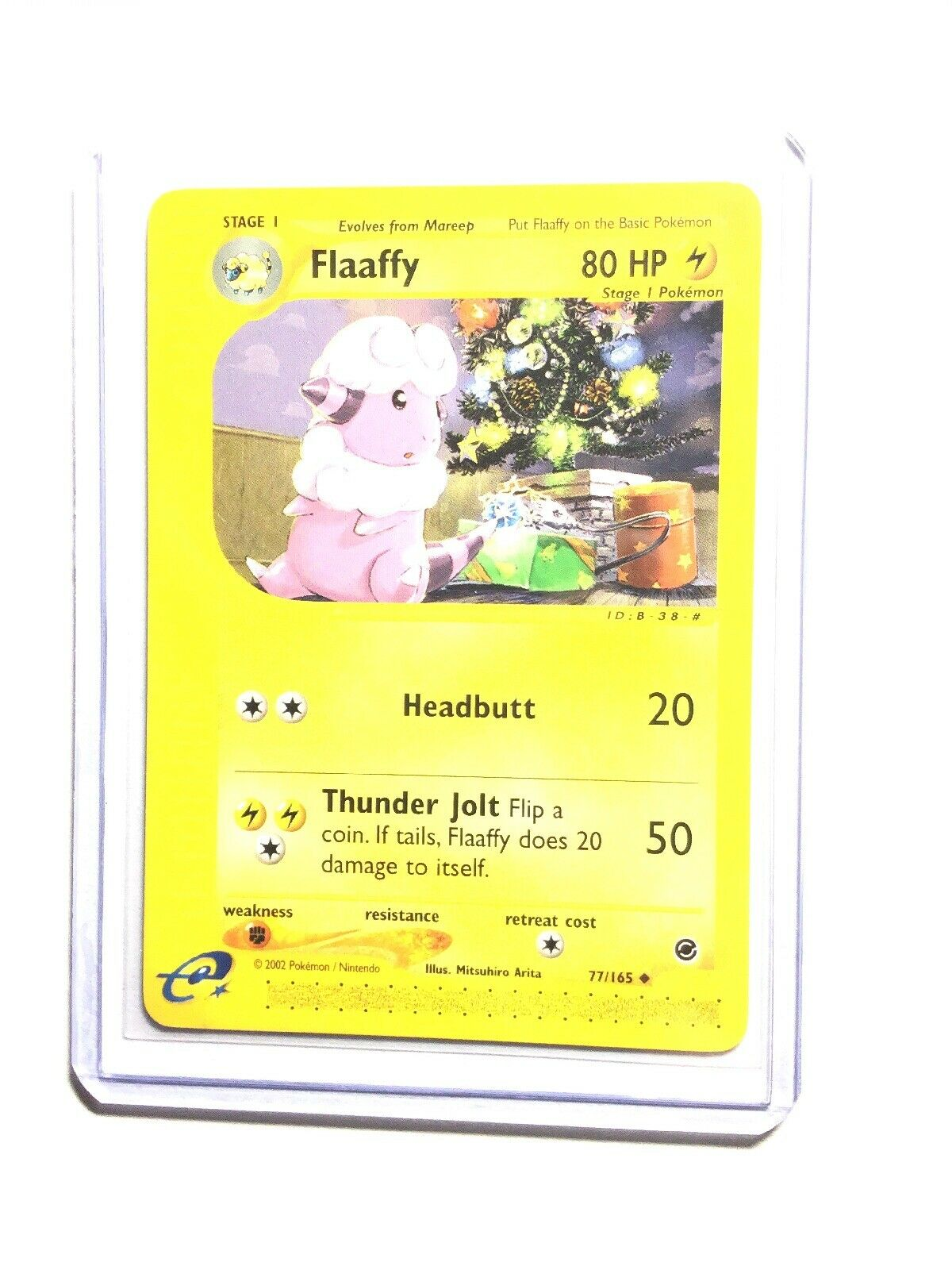 FLAAFFY 77/165 Expedition Pokemon WOTC Card NM Free Shipping ...