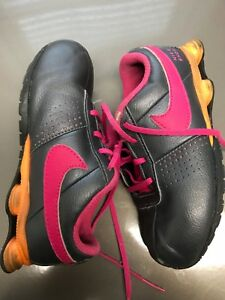 online store 609b2 2bf39 Image is loading Nike-Air-Shox-size-10C-Childrens-Shoes-Sneakers-