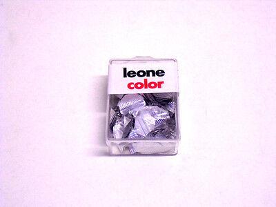 Efficiente Leone Color - Ferma-angoli 18 Mm - Confezione Da 100 Pezzi