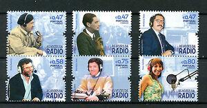 Portugal-2016-MNH-Voices-of-Radio-6v-Set-Ana-Galvao-Fernando-Pessa-Stamps