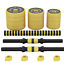 thumbnail 5 - 66lb Dumbbell Set Adjustable Dumbbells weights cap 552 30kg NEW Weight barbell