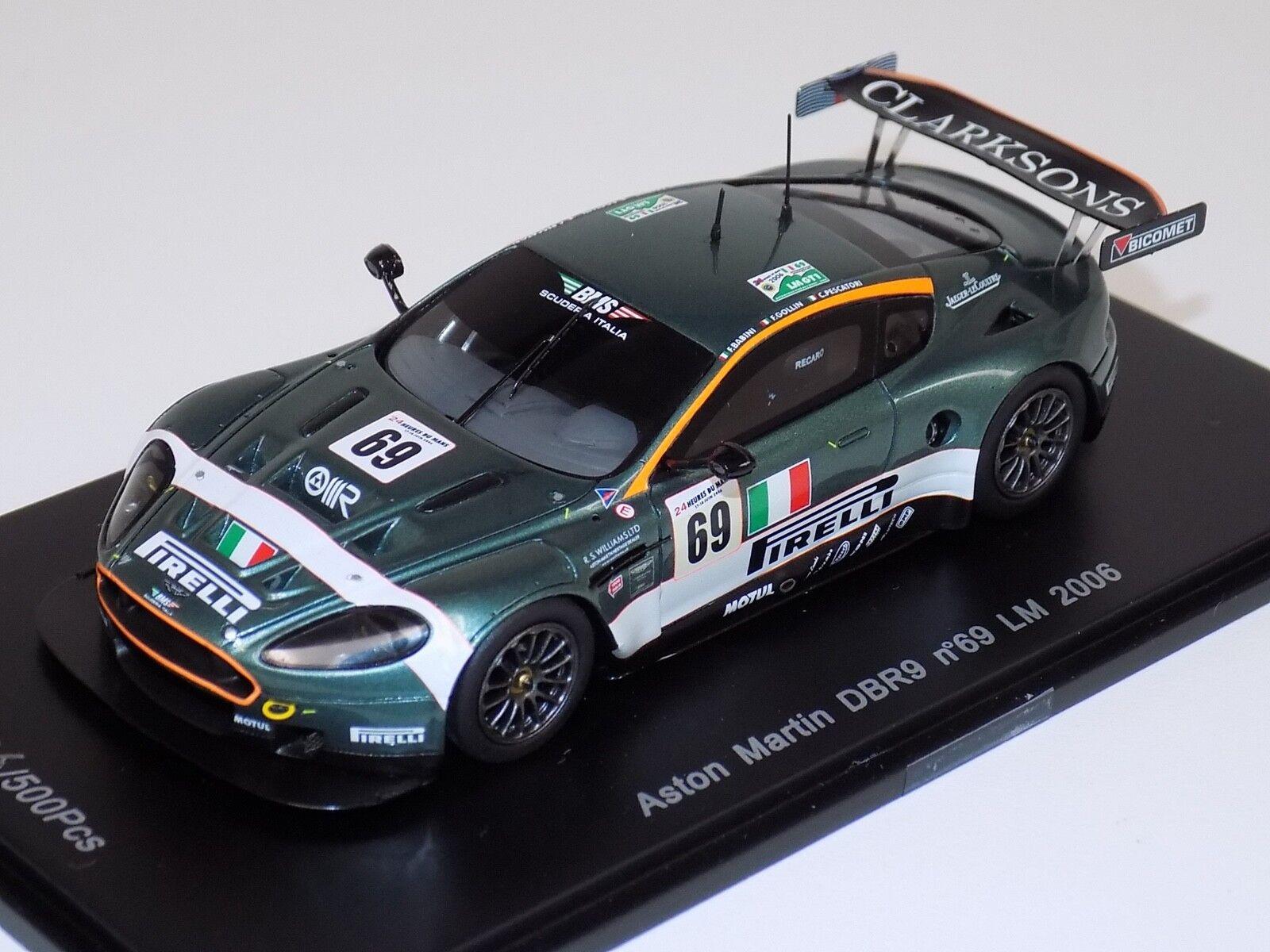 1  43 Sparks modelllllerlerler Aston Mkonstin DBR9 Hours of LeMans 2006 Lim 500 S1206
