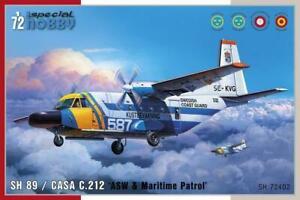 Special-Hobby-SH-89-Casa-C-212-ASW-amp-Maritime-Patrol-1-72-Bausatz-Kit-Art-72402