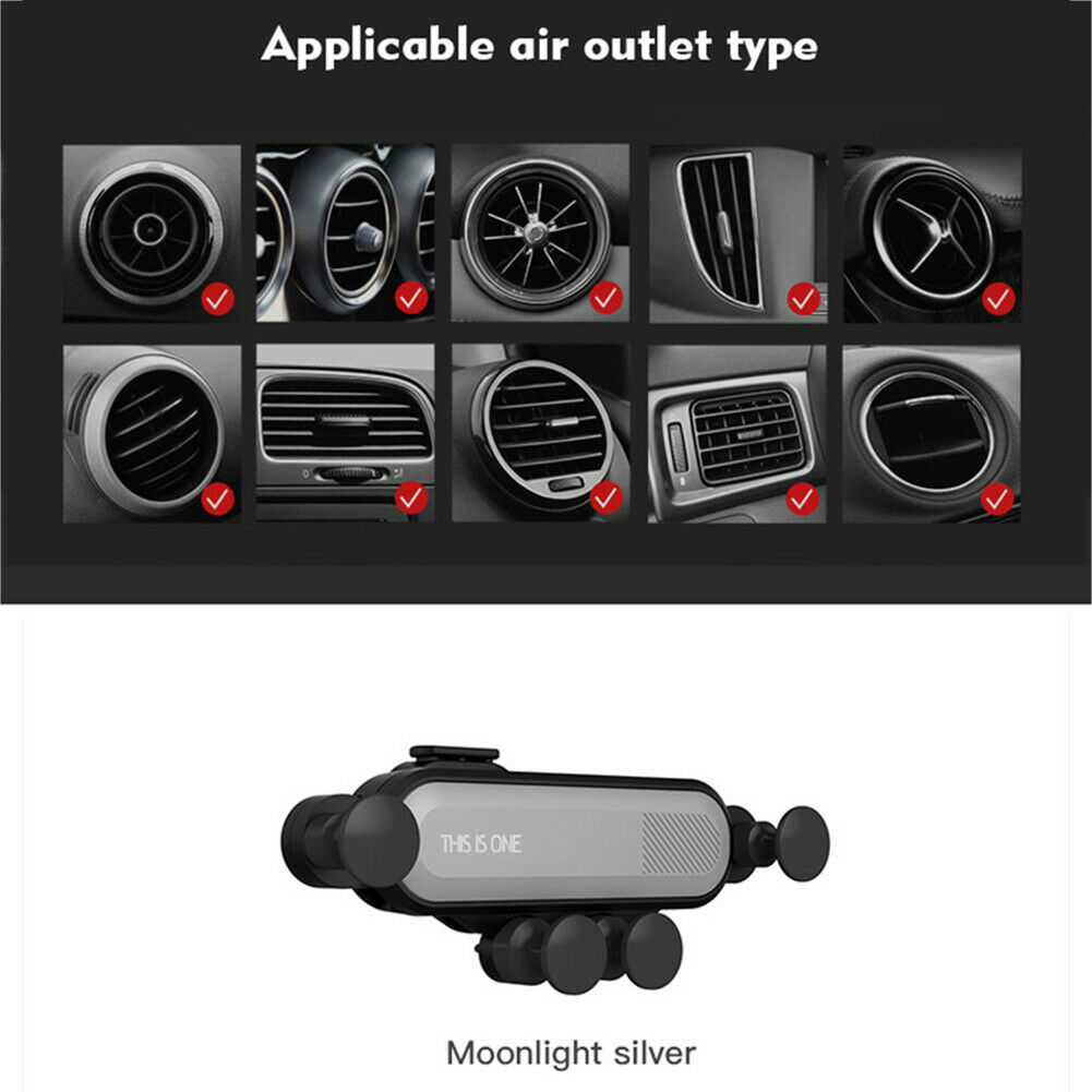 Universal 360° Gravity Car Air Vent Mount Holder Stand Mobile Cell Phone GPS New 2