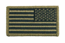 Rothco Reverse US Flag Patch - OCP Scorpion - New - Hook and Loop- 17790