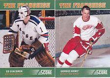 12-13 Score Gordie Howe The Franchise Original 6 Red Wings 2012
