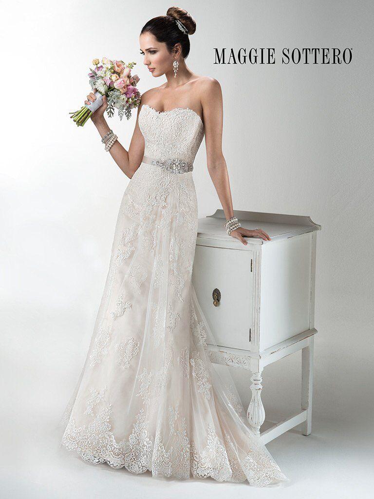Maggie Sottero Wedding Dress JOELLE Size 14 Ivory NEW!! SALE!!