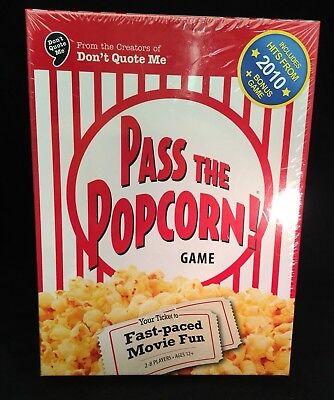 Pass The Popcorn! Game Factory Sealed Family Movie Fun Bonus Actor Card  Game   eBay