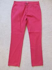 New with Tags Men's Forever 21 Men Red Khaki Pants Skinny/Slim Size 32 x 32