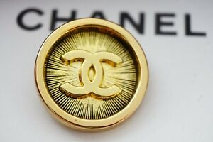 One-Stamped-Chanel-button-1-pieces-metal-cc-logo-0-8-inch-20-mm-gold