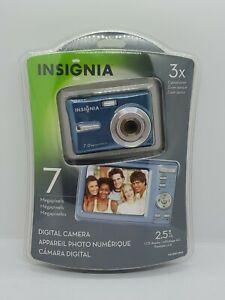 Camara-Digital-De-7-0-megapixeles-Insignia-NS-DSC7B09-Azul-Nuevo-en-paquete-Nuevo-en-Paquete