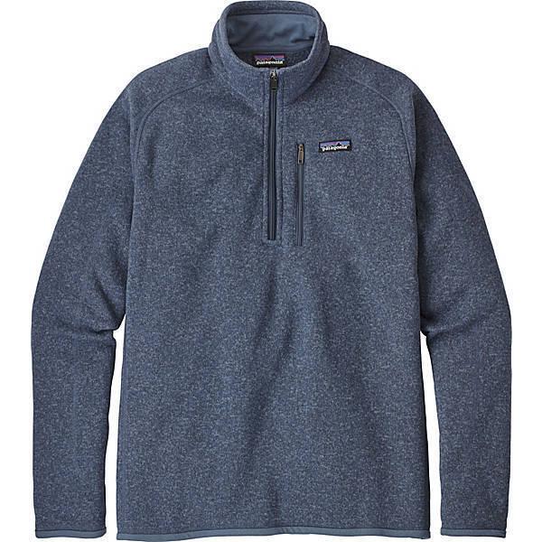 Patagonia  Herren Better Sweater 1/4 Zip Pullover 25522 - Dolomite Blau - Medium