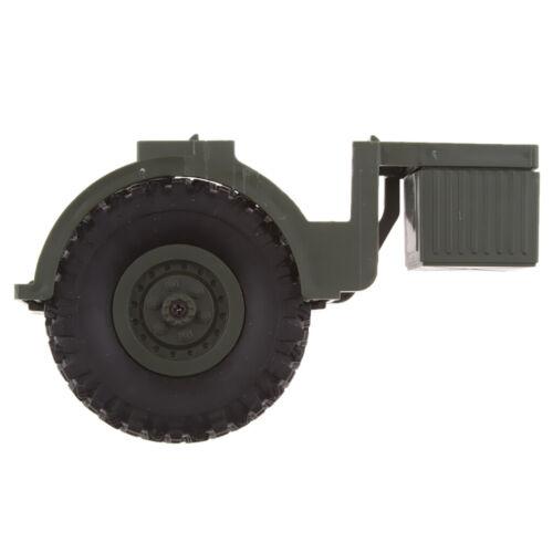 DIY Reserverad mit Öltank für WPL B36 B36 B36K B36KIT 1//16 Military Truck