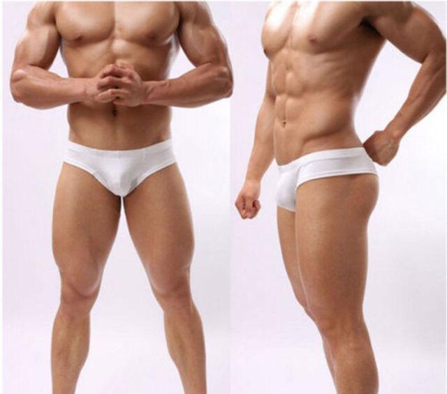 Men's Sexy  Boxer Briefs Underwear Comfy Enhance Bulge Pouch Bikini Boxers CAOD