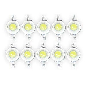 50-Pcs-3W-White-High-Power-Led-Lamp-Bead-200-230-Lm-45mil-6000k-6500K