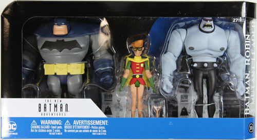 DC Collectibles ~ THE DARK KNIGHT RETURNS 3-PACK  ~ New Batman Adventures