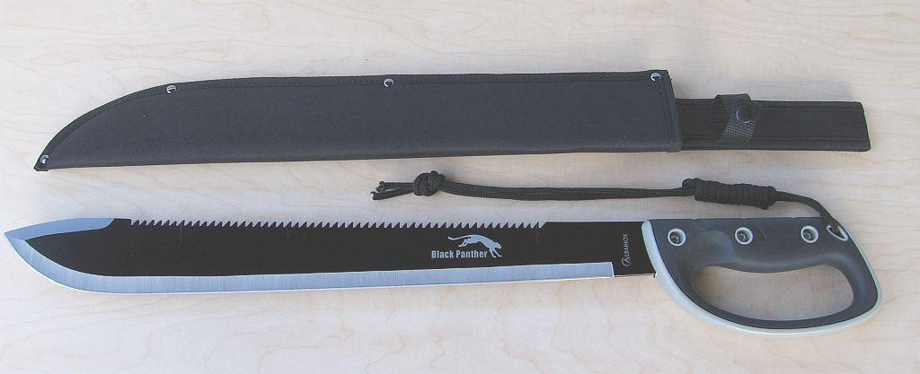 Black Panther machette Couperet Busch Couteau énorme de ALBAINOX 31812 31812 31812 Nouveau/Neuf dans sa boîte e66ff3