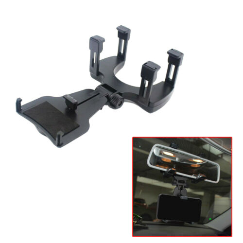 Car Rearview Mirror Mount Stand Holder For Cell Phone GPS Cradle Car Accessories
