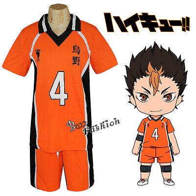 Nishinoya Yuu Haikyuu!! Anime Cosplay Costumes High School Uniform Clothing SHOW