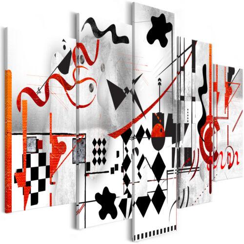 Wandbilder xxl 225x100 cm Wassily Kandinsky Inspiration Abstrakt l-A-0028-b-m