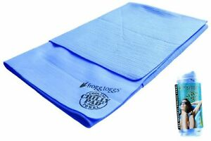 Frogg-Toggs-super-chilly-cooling-towel-W-SPF-50-blue-33-inch-x-25-inch-NEW