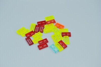 Lego Technic Technik 25x Gitterstein 1x2 #2412b gelb