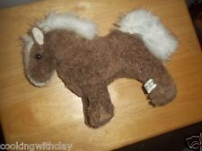 RARE VINTAGE MAINE LEE FORTIER CRITTERS PLUSH DOLL FIGURE REALISTIC HORSE TOY