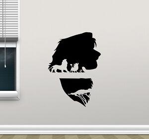 Image Is Loading Lion King Wall Decal Simba Timon Pumbaa Vinyl