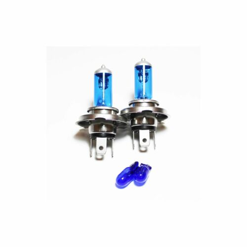 Fiat Scudo 270 55w Super White Xenon HID High//Low//Side Headlight Bulbs Set