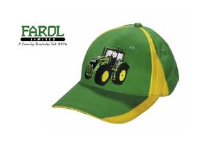 La imagen se está cargando Genuine-John-Deere-Tractor-Gorra-De-Beisbol -Verde- ac3dbc01c8b