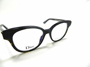 bb4a568b8213 Christian Dior Eyeglasses MONTAIGNE 1 01 G9Z 52mm 17mm 140mm New ...