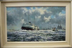 Oil-Painting-Mersey-Ferry-Royal-Daffodil-Liver-building-Liverpool-R-Stephens