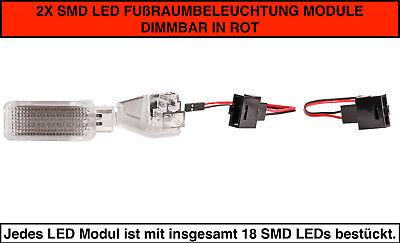 2x TOP LED SMD Kennzeichenbeleuchtung Seat Leon SC 5F5 VWP