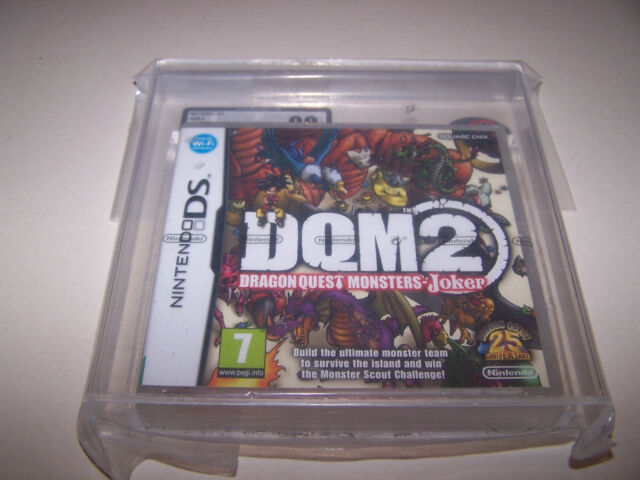 DRAGON QUEST MONSTERS DQM 2 - Nintendo DS - UK PAL - NEW SEALED UKG GRADED 90 MT