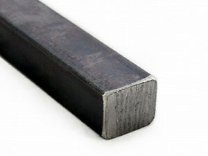 Square Mild Steel Solid Rod 1000mm x 10mm x 10mm Bar, Milling Material - 1 Meter