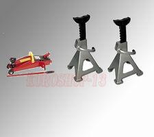 Cric/Sollevatore idraulico a carrello 2 ton +Cavalletti  per auto 2 ton