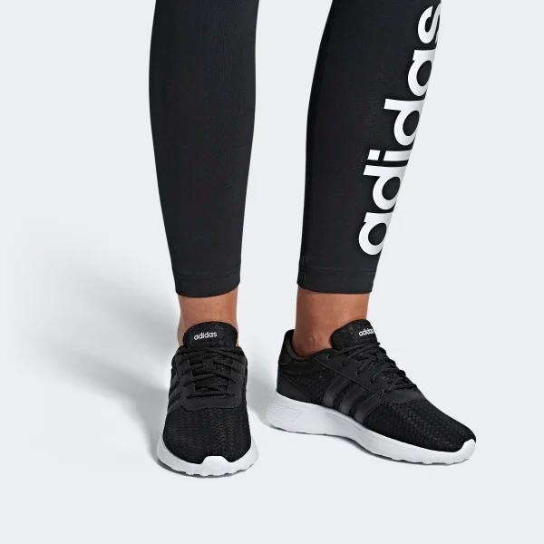 black adidas childrens trainers