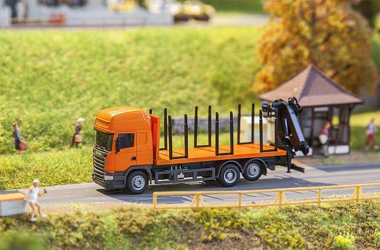 Faller 161634 scania R 13 brevemente madera camiones (Herpa) Artículo nuevo