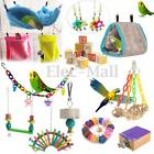 Bird Hammock Hanging Cave Cage Plush Snuggle Happy Hut Tent Bed Parrot Hideaway
