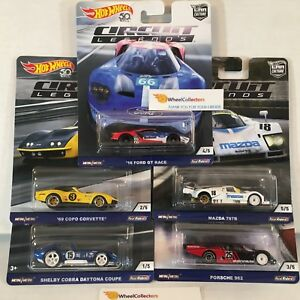 5-Car-Set-2018-Hot-Wheels-CIRCUIT-LEGENDS-Car-Culture-IN-STOCK