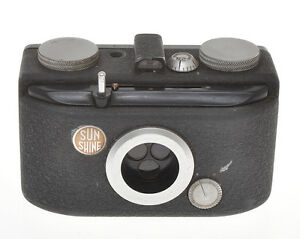 O-M-I-OMI-Nistri-Sunshine-Universal-very-rare-Italian-3-colors-camera-ca-1946