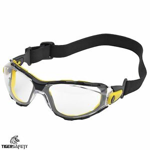 Clear Goggles Over Glasses